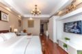 comfortable double  bed - China Hotels Villas Information